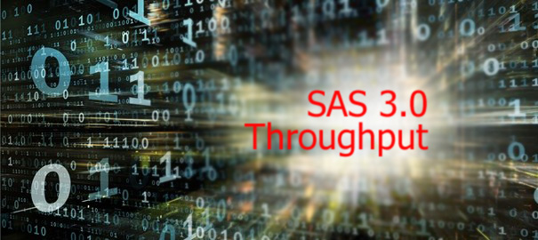 Throughput SAS 3.0